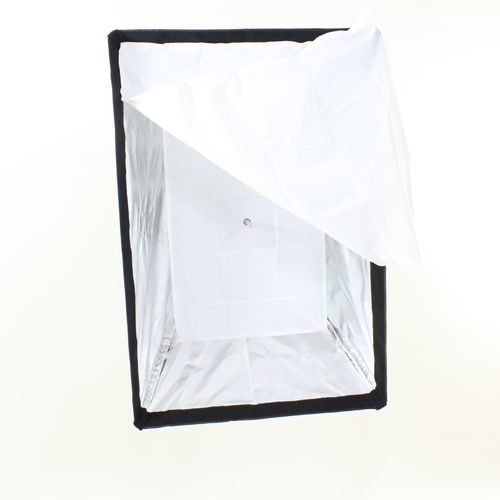 Softbox 2x BOW 60x90 ALTA RESISTENZA Anello Bowens x Flash Illuminatori Studio